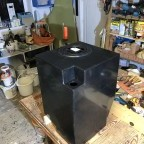 Finished water tank with approx. 60 litres