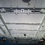 Underbody after sandblasting and painting