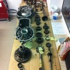 Gearbox reconditioning: individual parts