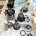 Rear differential reconditioning: individual parts