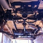 Four-wheel drive mounting: view from rear to front